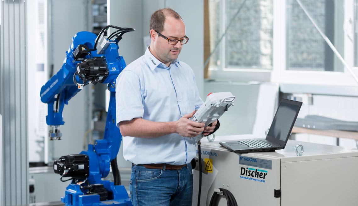 Inbetriebnahme von Robotern