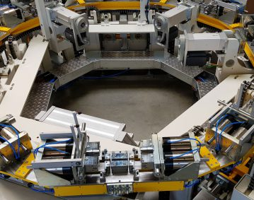 Roboterapplikation-wassergekuelhlte-Ladeluftkuehler