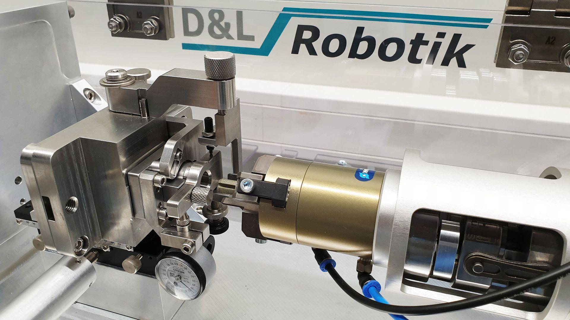 Roboterapplikation Prüf- und Messtechnik